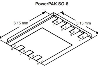 SI7149DP-T1-GE3 P-Channel MOSFET 30V 50A
