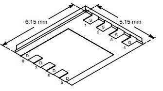 SI7392DP N-Channel MOSFET 30V 9A