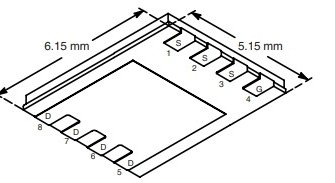 SI7850DP N-Channel MOSFET 60V 10A