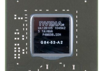 Видеочип Nvidia GeForce 8800 GT G84-53-A2