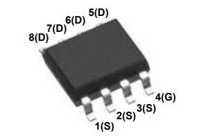 MDS1525 N-Channel MOSFET 30V 16.9A