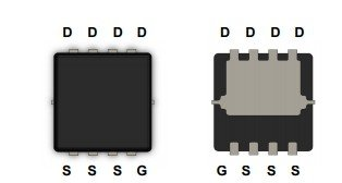 MDV1528 P-Channel MOSFET 30V 16A